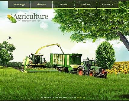 Agricultura - Easy flash templates