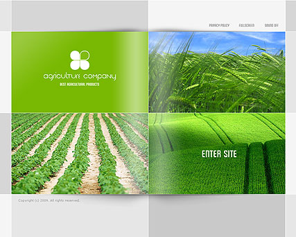 Agriculture CO. - Easy flash templates
