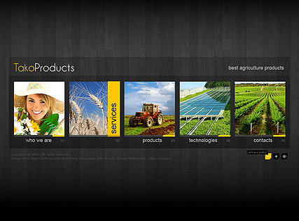 Agriculture Products - Easy flash templates