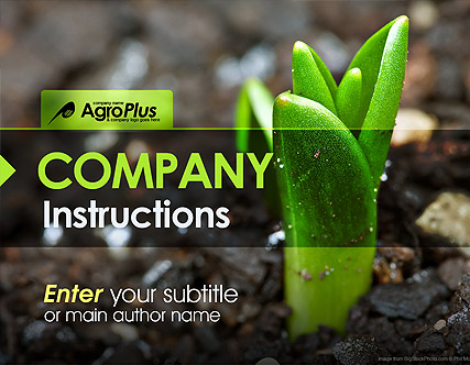 Agro Plus - Powerpoint templates
