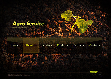Agro Service - Easy flash templates