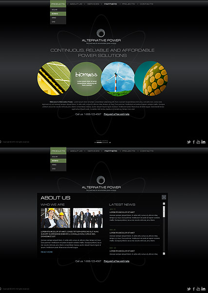 Alternative Power - HTML5 templates