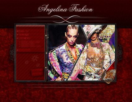 Angelina fashion - Flash template