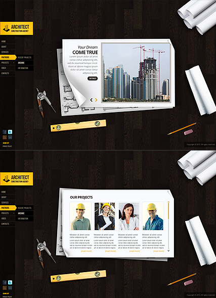 Architecture Design - HTML5 templates