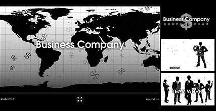 BW Business - Flash intro template