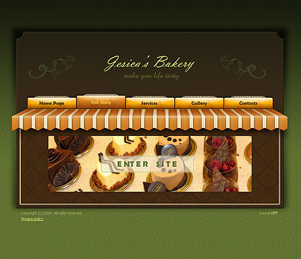 Bakery - Easy flash templates
