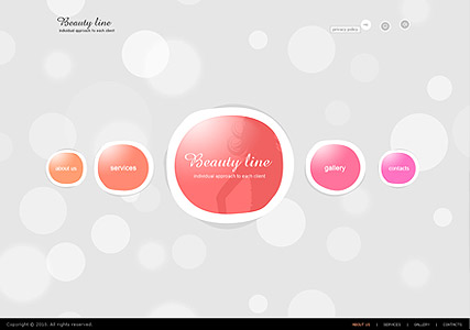 Beauty Line - Easy flash templates