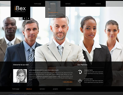 Best Business - HTML template