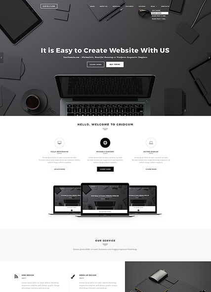 Black Label - HTML template