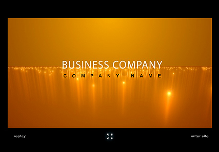 Business Company - Flash intro template
