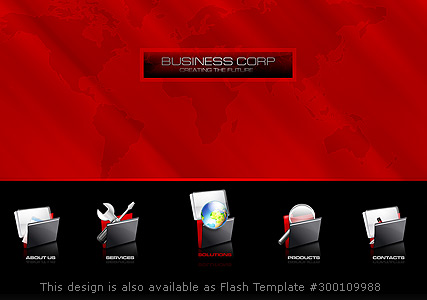 Business Corp - Easy flash templates