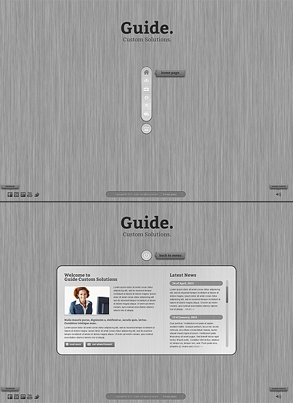 Business Guide - HTML5 templates