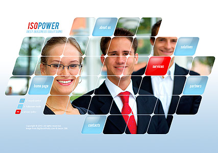Business Power - Easy flash templates
