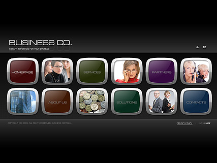 Business co. - Easy flash templates