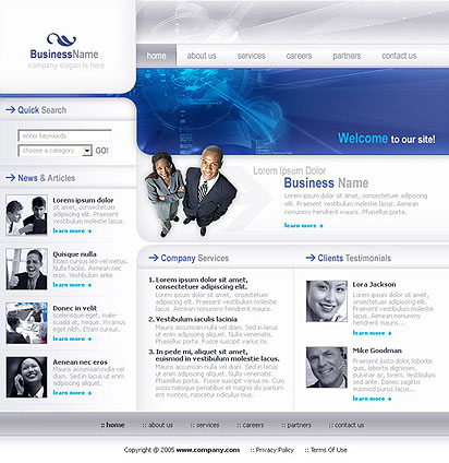 Business - HTML template