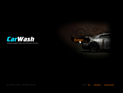 Car wash - Easy flash templates