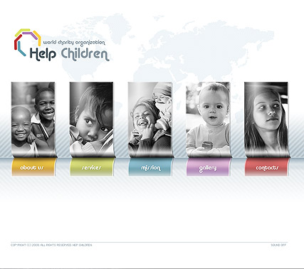 Charity - Easy flash templates