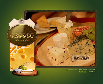 Cheese - Easy flash templates