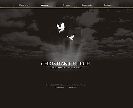 Christian church - Easy flash templates