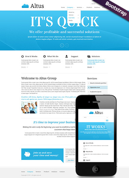 Clean Business - HTML template
