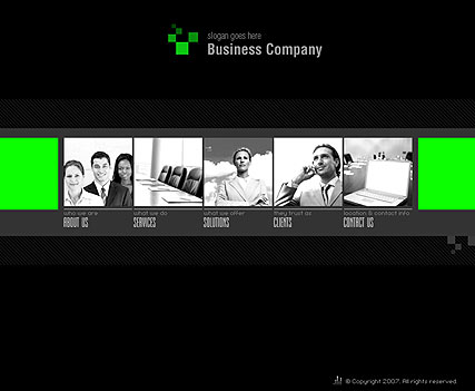 Company - Flash template