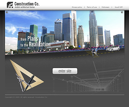Construcion CO. - VideoAdmin flash templates