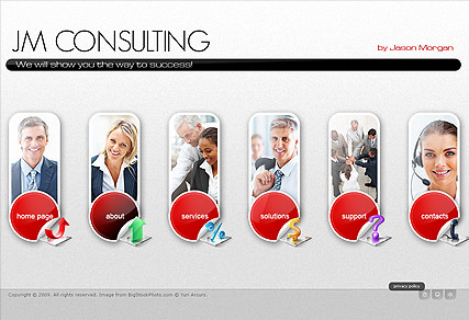 Consulting Group - Easy flash templates