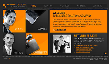 Consulting - Flash template