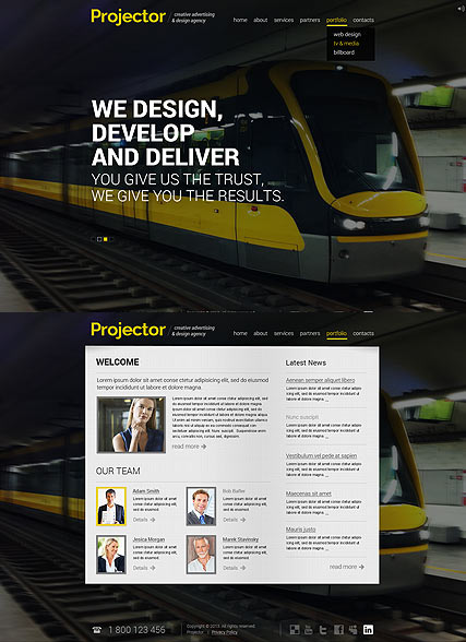 Creative Agency - HTML5 templates