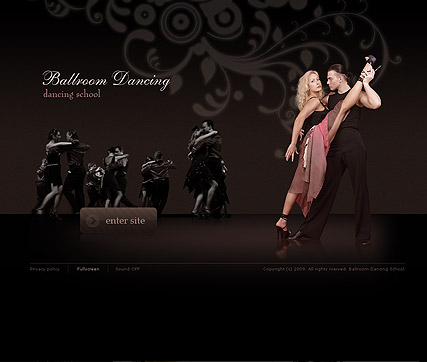 Dancing school - Easy flash templates