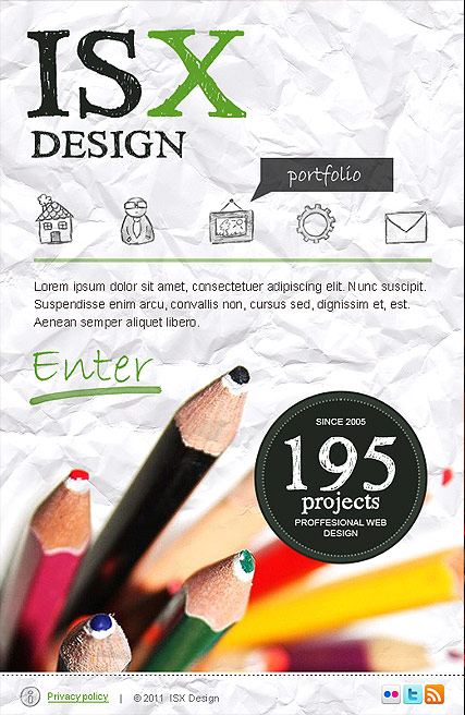 Design Studio - Facebook template