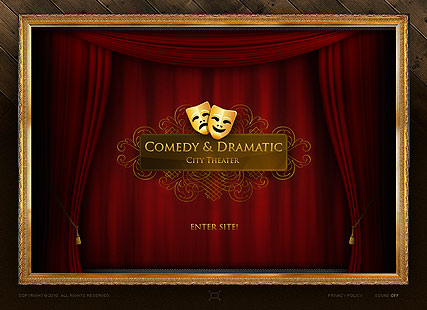 Dramatic Theater - Easy flash templates