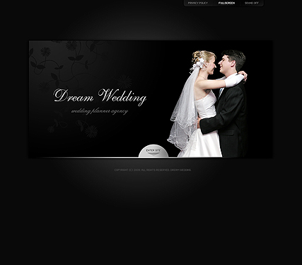 Dream wedding - Easy flash templates