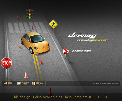 car templates website templates
