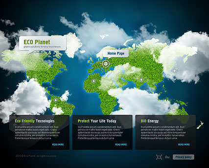 ECO Business - Easy flash templates
