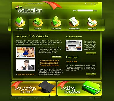 Education - Flash template