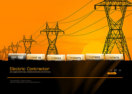 Electric Contractor - Easy flash templates