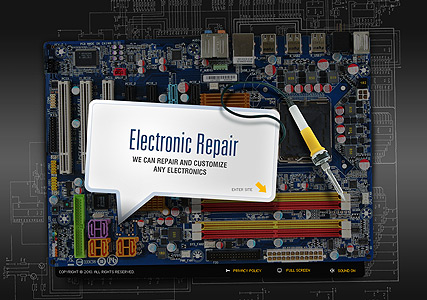 Electronics Repair - Easy flash templates