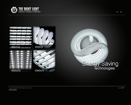 Energy co. - Easy flash templates