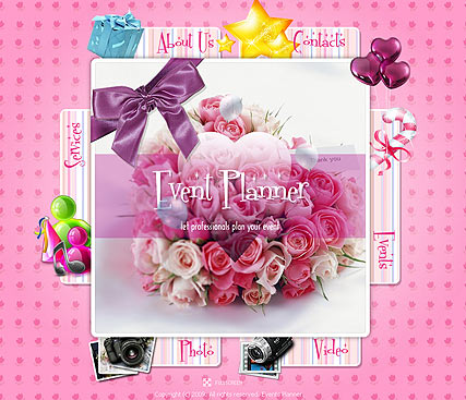 Event Planner - Easy flash templates