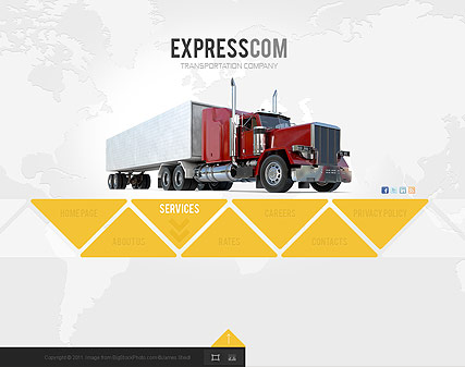 Express Delivery - Easy flash templates