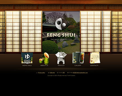 Feng Shui - Easy flash templates