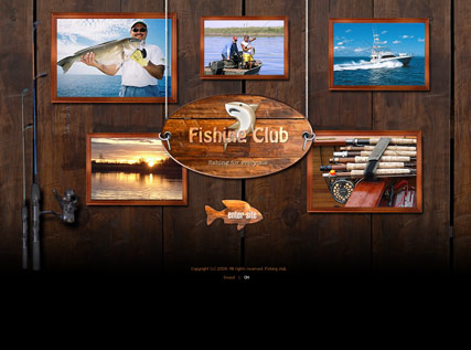 Fishing club - Easy flash templates