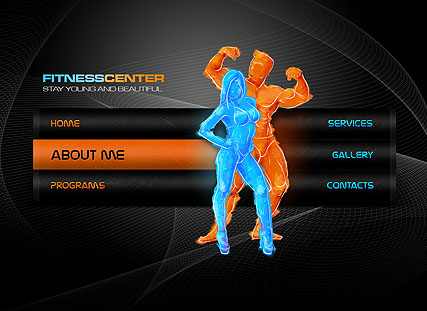 Fitness Center - Easy flash templates