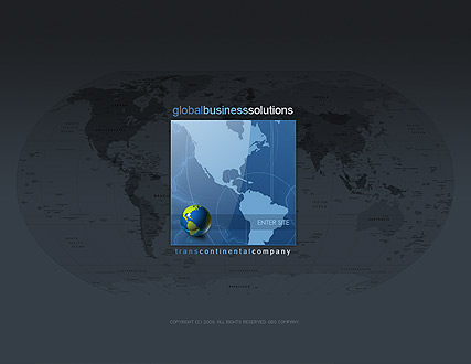 Global business - Easy flash templates