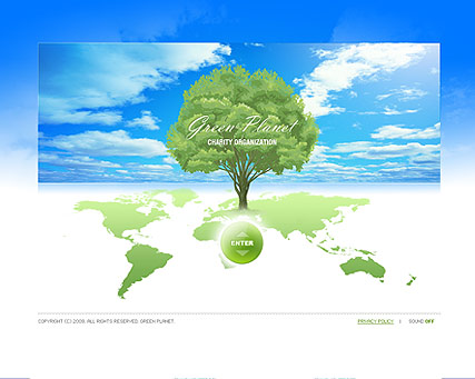 Green Planet - Easy flash templates