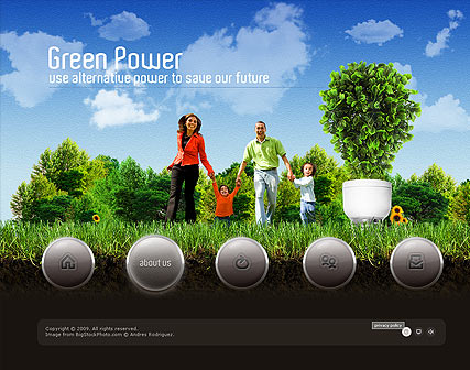 Green Power - Easy flash templates