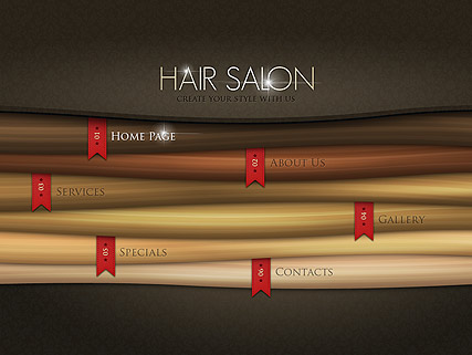 Hair Salon - Easy flash templates