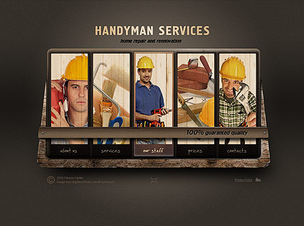 Handyman Service - Easy flash templates