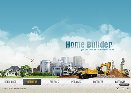 Home Builder - Easy flash templates